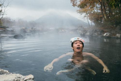 北海道「屈斜路湖」にある野外露天風呂がワイルドで最高だった