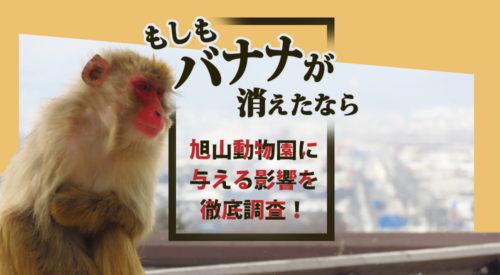 【もしもバナナが消えたなら】旭山動物園に与える影響を徹底調査!
