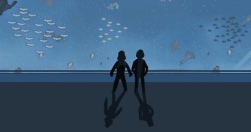 魚ではなく都道府県が泳ぐ水族館
