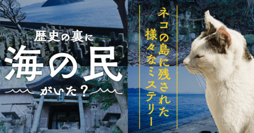 歴史の裏に「海の民」がいた? ネコの島に残されたミステリー